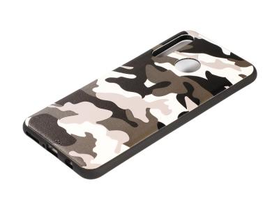 Силиконов Гръб Camouflage за Huawei P30 Lite / nova 4e, Бял