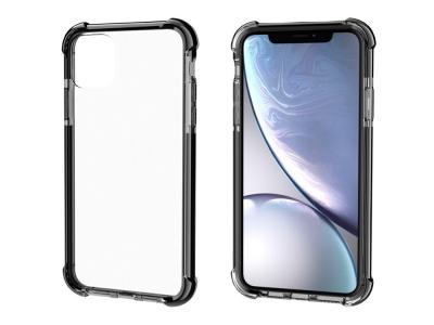 Удароустойчив Гръб Drop-resistan за iPhone 11 (6.1),Прозрачен / Черен