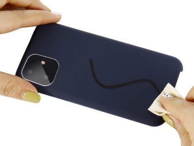 Пластмасов Гръб LUX за iPhone 11 (6.1), Син