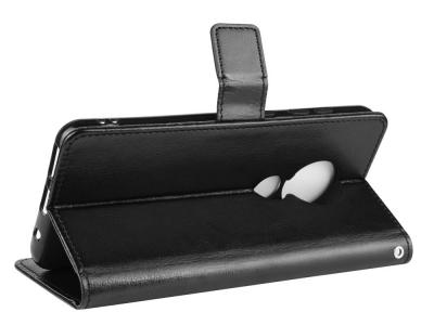 Калъф Тефтер Crazy Horse за Nokia 6.2 / Nokia 7.2, Черен