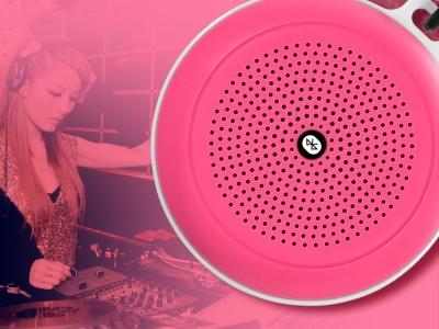 Преносима Bluetooth колонка XO-F1 , Розов