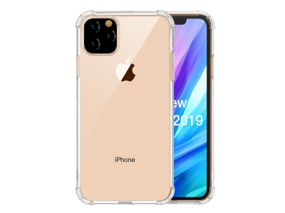 Удароустойчив Гръб LEEU DESIGN за iPhone 11 6.1 inch (2019), Прозрачен