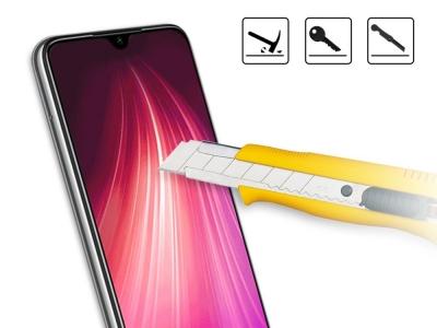Стъклен Протектор 3D Full за Xiaomi Redmi Note 8T , Черен