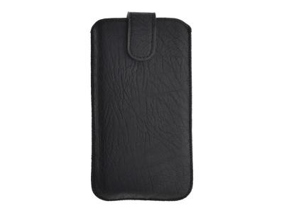 Универсален калъф с издърпване Kora 2 за Nokia E52/515, Черен
