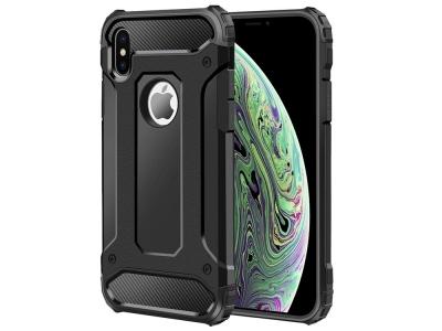 Удароустойчив гръб Armor за iPhone X / Xs , Черен