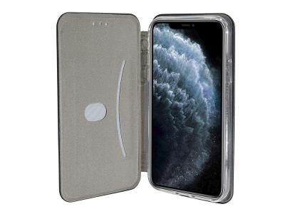 Калъф Тефтер ELEGANCE за iPhone 11 Pro Max, Черен
