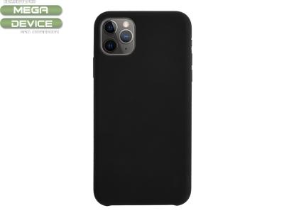 Силиконов Гръб LUX за iPhone 11 Pro Max (6.5), Черен