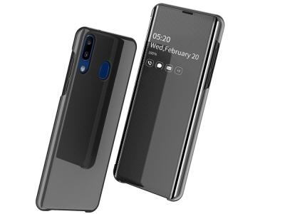 Калъф Тефтер View Window за Samsung Galaxy A20e, Черен
