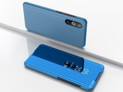 Калъф Тефтер View Window Mirror за Samsung Galaxy A50/A50s/A30s, Светло син