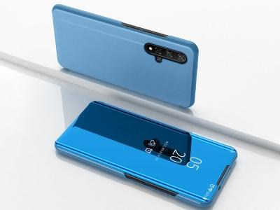 Калъф Тефтер View Window Mirror за Huawei Honor 20S / Honor 20 / Honor 20 Pro / nova 5T, Син