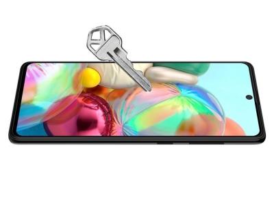 Стъклен Протектор 5D Full Glue за Samsung Galaxy A71 (2019), Черен