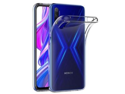 Силиконов гръб за Huawei P Smart PRO (2019), Прозрачен