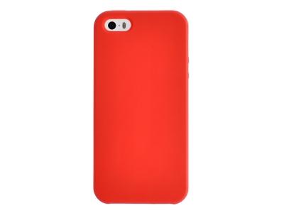 Калъф Гръб LUX за iPhone 5 / 5S / SE, Червен