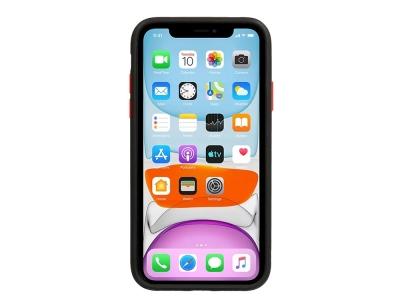 Удароустойчив Гръб Bumper за iPhone X / XS, Черен