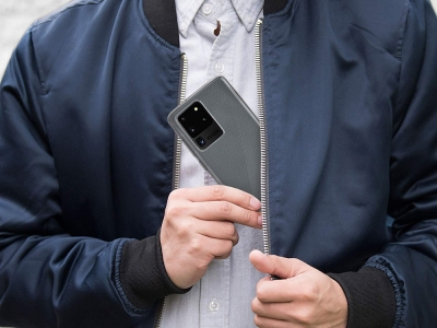 Силиконов гръб Jelly Mercury за Samsung Galaxy S20 Ultra / S11 Plus, Прозрачен