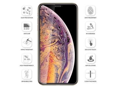 Стъклен протектор Smart Glass Full Glue за iPhone X / Xs / iPhone 11 Pro - Black