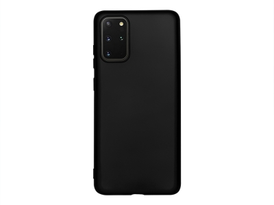 Силиконов Гръб Level за Samsung Galaxy S20 Plus, Черен