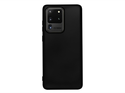 Силиконов Гръб Level за Samsung Galaxy S20 Ultra, Черен