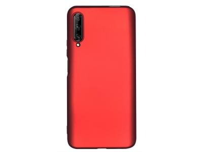 Силиконов Гръб Level за Huawei P Smart Pro (2019), Червен