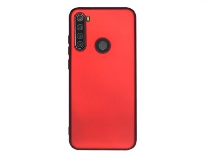 Силиконов Гръб Level за Xiaomi Redmi note 8T, Червен