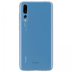 Силиконов Гръб Jelly Roar за Huawei P20 Pro, Прозрачен