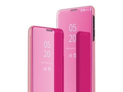 Калъф Тефтер View Window за Samsung Galaxy A71, Розов