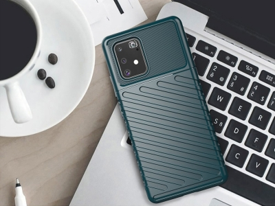 Силиконов Гръб Thunder за Samsung Galaxy S10 Lite / A91, Зелен