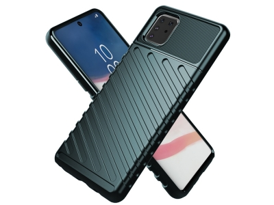 Силиконов Гръб Thunder за Samsung Galaxy A81/Note 10 Lite, Зелен
