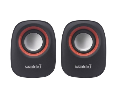 Тонколони 2.0 USB Makki SP0-017, Черен