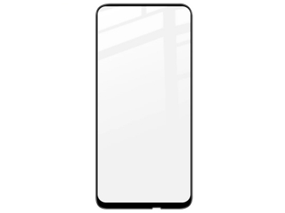 Стъклен Протектор Full Glue 5D за Huawei P40 Lite E, Черен