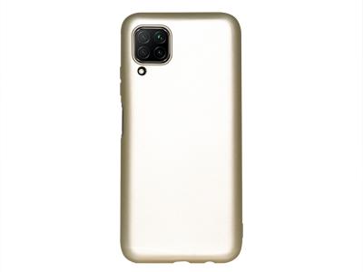 Силиконов гръб Level за Huawei P40 Lite, Златист