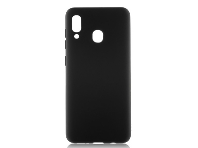 Силиконов Гръб Lite MATTE за Samsung Galaxy A40, Черен