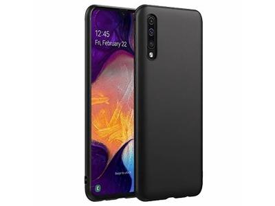Силиконов Гръб Lite MATTE за Samsung Galaxy A50, Черен