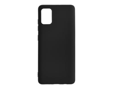Силиконов гръб Level за Samsung Galaxy A71, Черен