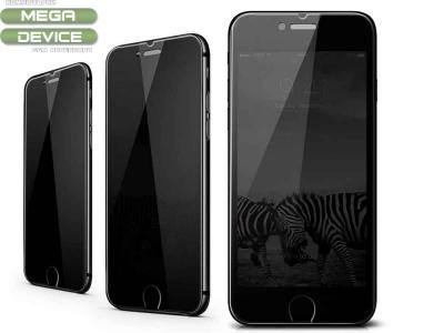 Стъклен протектор Privacy 5D Full Glue за iPhone 7 / iPhone 8 / iPhone SE, Черен