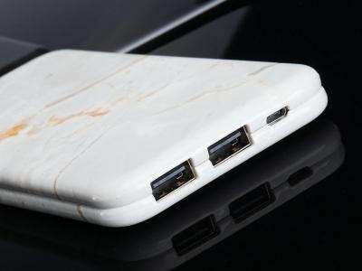 Универсална външна батерия PURIDEA S2 10000 mAh , Бял Мрамор