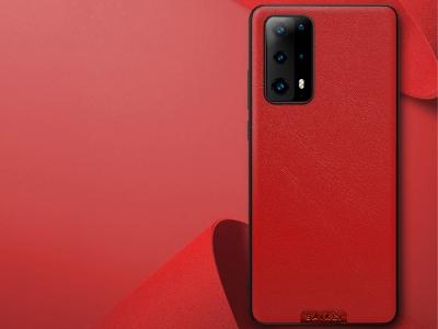 Удароустойчив гръб Simple Design за Huawei P40, Червен