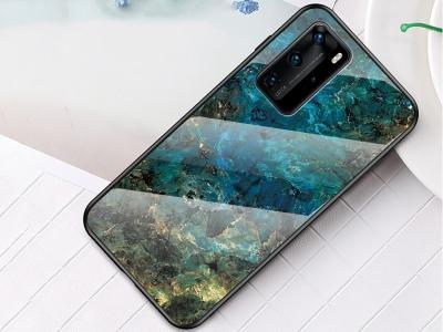 Стъклен Гръб Glass за Huawei P40 Pro, Смарагд