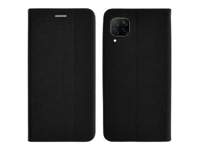 Калъф Тефтер SENSITIVE за Huawei P40 Lite, Черен