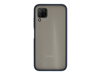 Удароустойчив Гръб Bumper за Huawei P40 Lite, Син