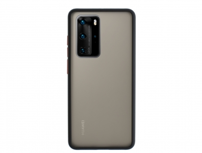 Удароустойчив Гръб Bumper за Huawei P40 Pro, Черен