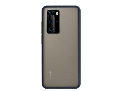 Удароустойчив Гръб Bumper за Huawei P40 Pro, Син