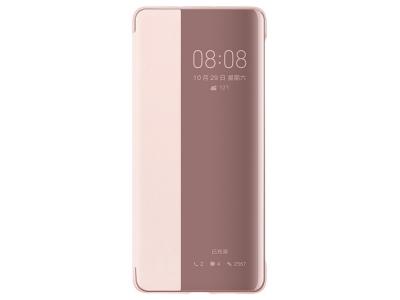 Калъф тефтер View Cover за Huawei P30 Pro, Розов- Златист