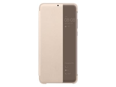 Калъф тефтер View Cover за Huawei P30 Lite / Nova 4e, Златист