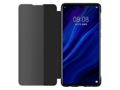 Калъф тефтер View Cover за Huawei P30, Черен