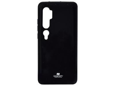 Силиконов гръб Jelly Mercury за Xiaomi Mi Note 10/Note 10 Pro, Черен