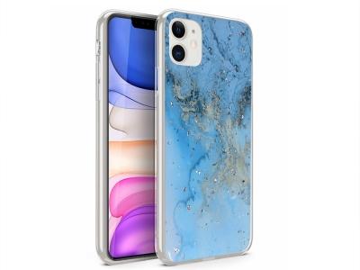 Силиконов Гръб Marble за Iphone 11, Design 10