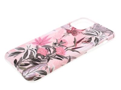 Силиконов Гръб Flower за iPhone 11, Розови цветя
