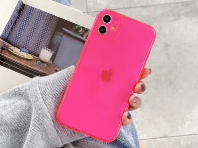 Силиконов Гръб за iPhone 11, Розов