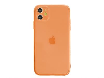 Силиконов Гръб за iPhone 11, Оранжев